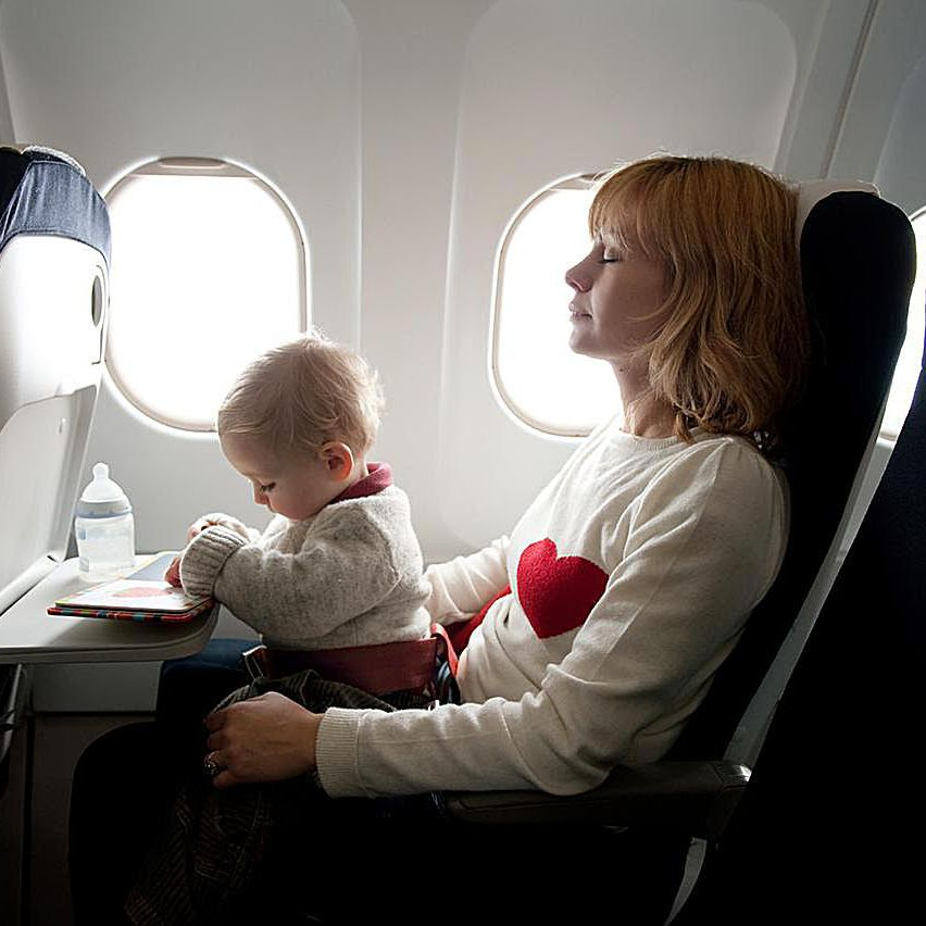 Traveling With Lap Infant United