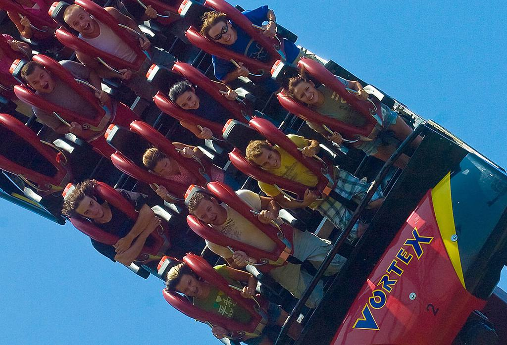 Reviews of the Roller Coasters at Carowinds