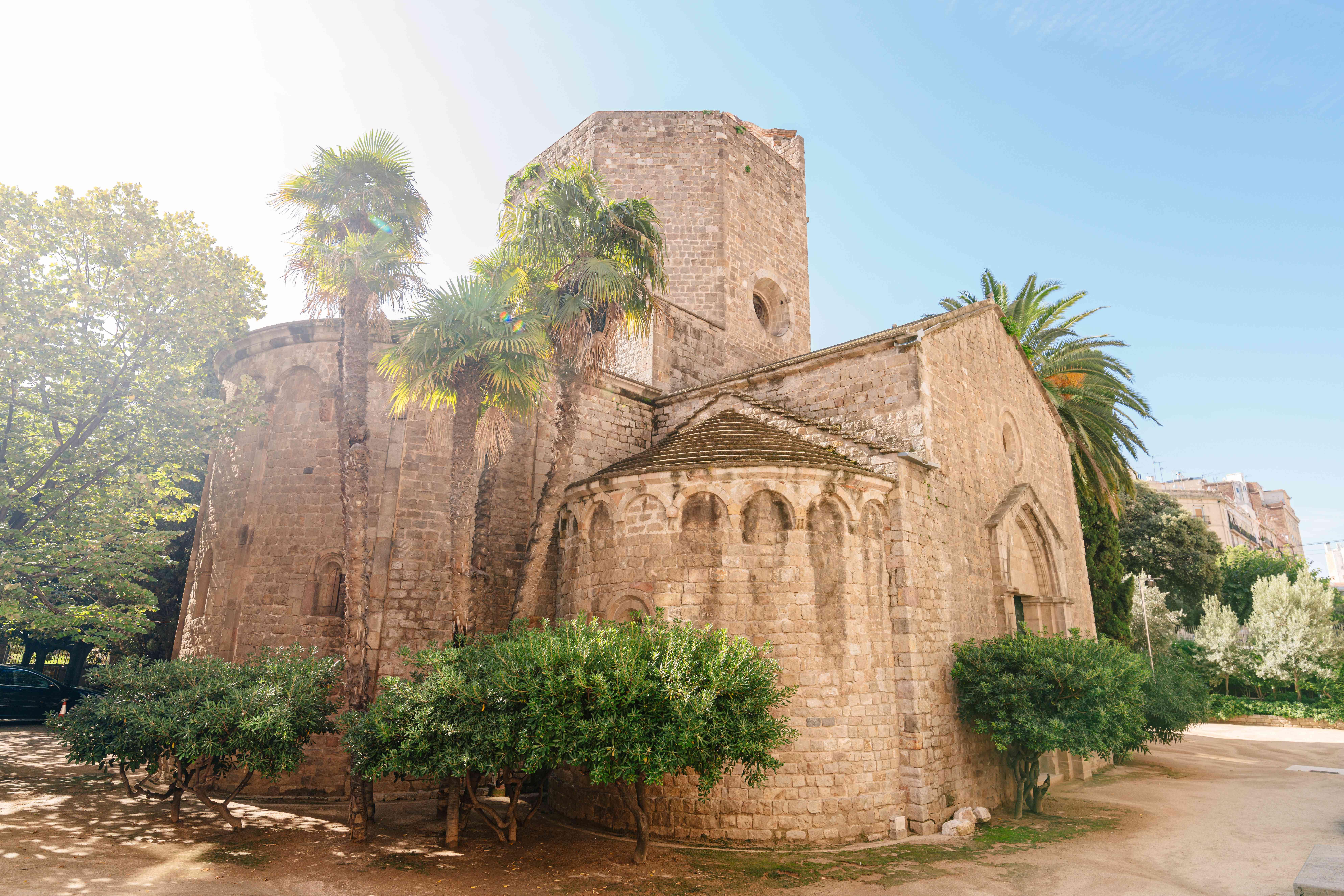Sant Pau del Camp in Barcelona