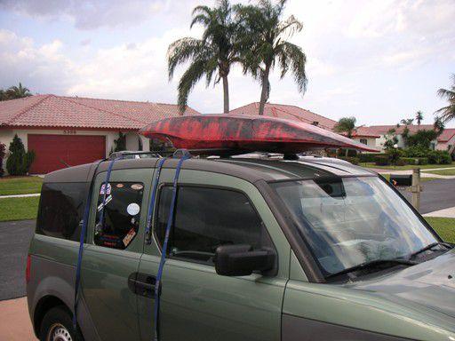 Kayak Roof Rack Step 2