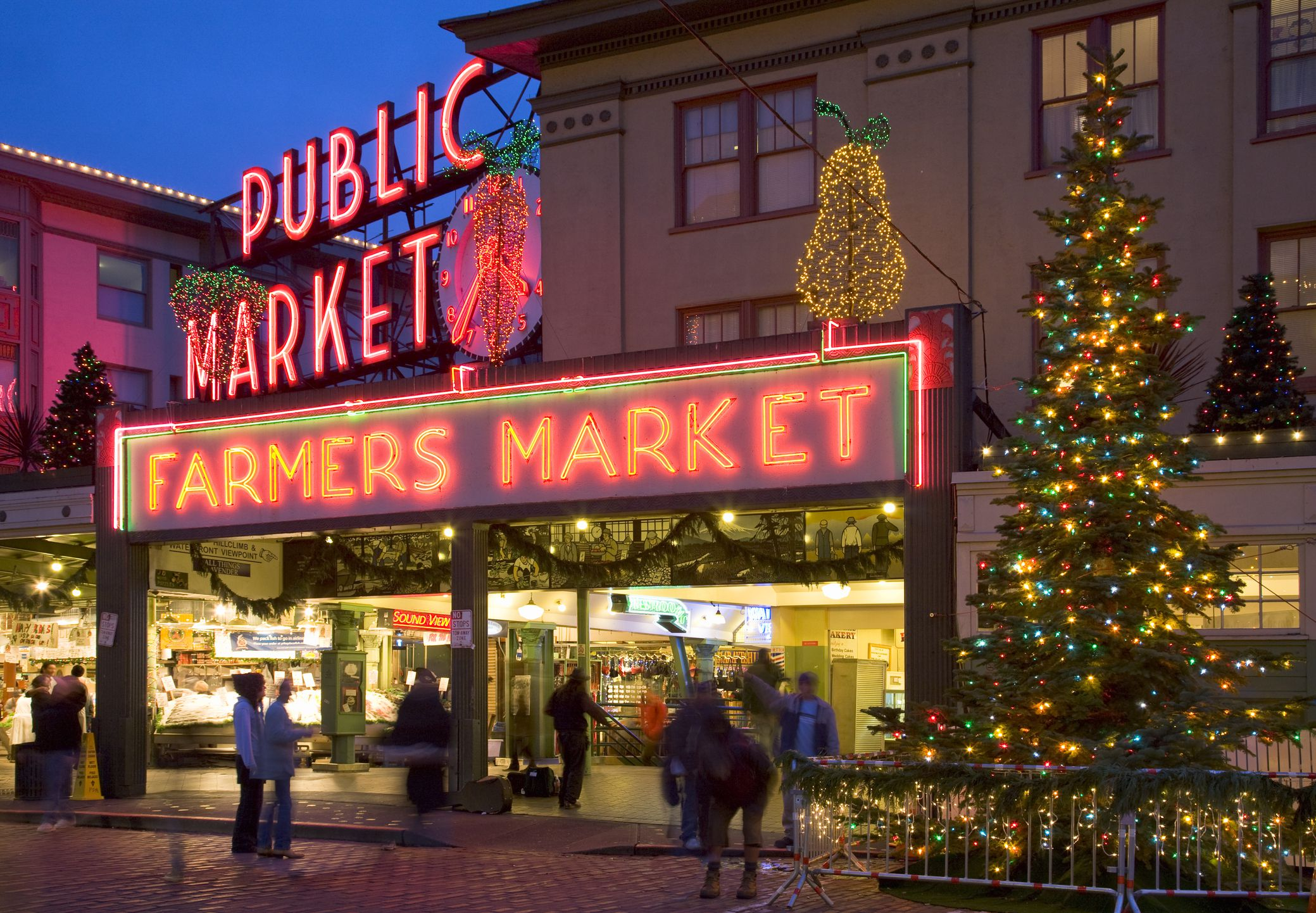 Holiday Light Shows in Seattle and Ta a Washington