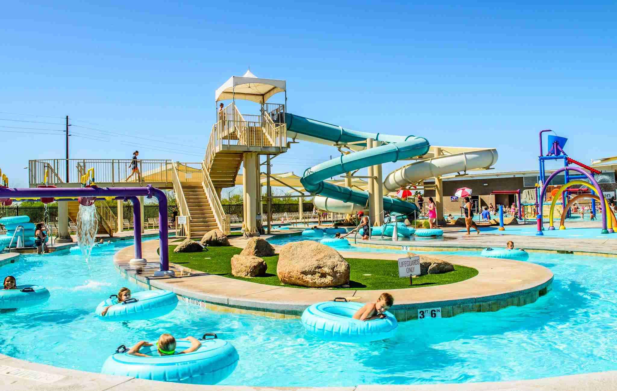 Hamilton Aquatic Center pool