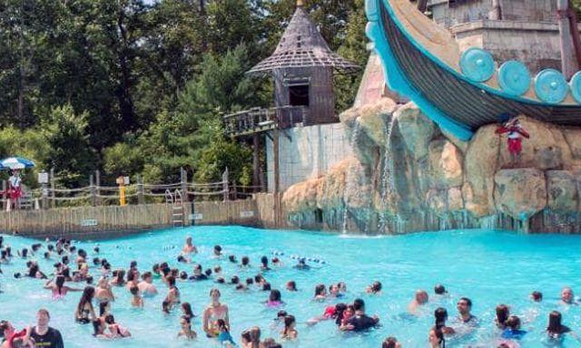 Blue Lagoon At Six Flags Nj