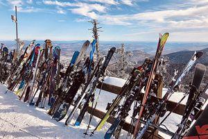 Killington Mountain Peak, Vermont.