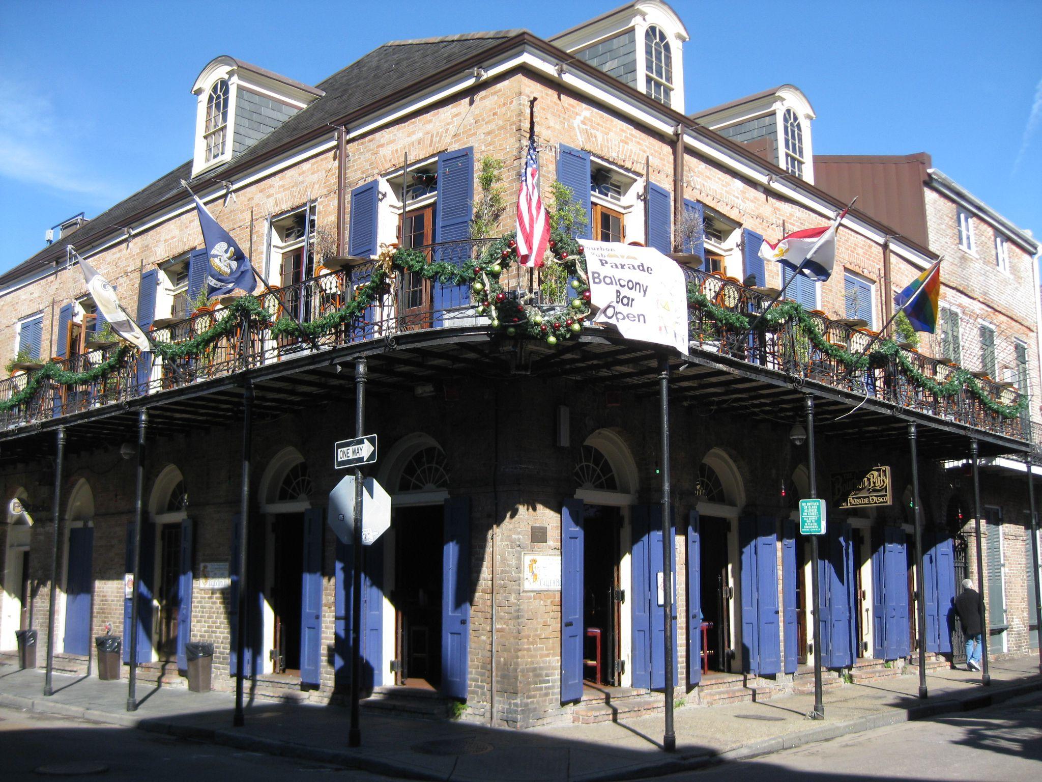 Gay sports bar's rooftop parties like bourbon street, neighbors say