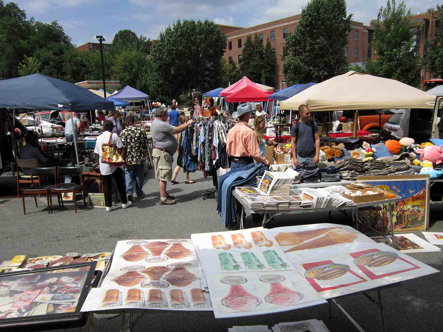 Washington Dc Area Flea Markets Shopping For Bargains
