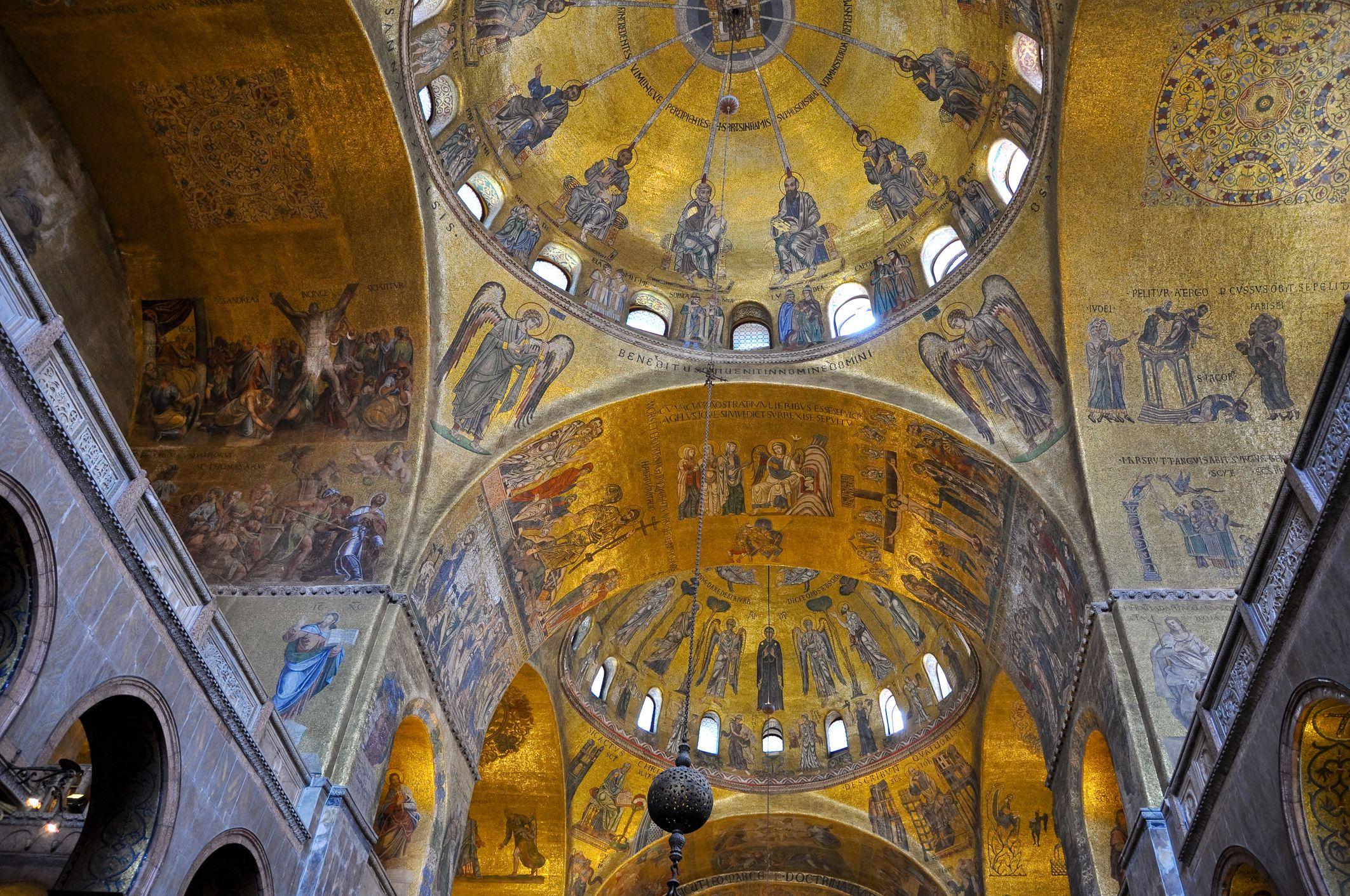 Interior de San Marcos, Venecia