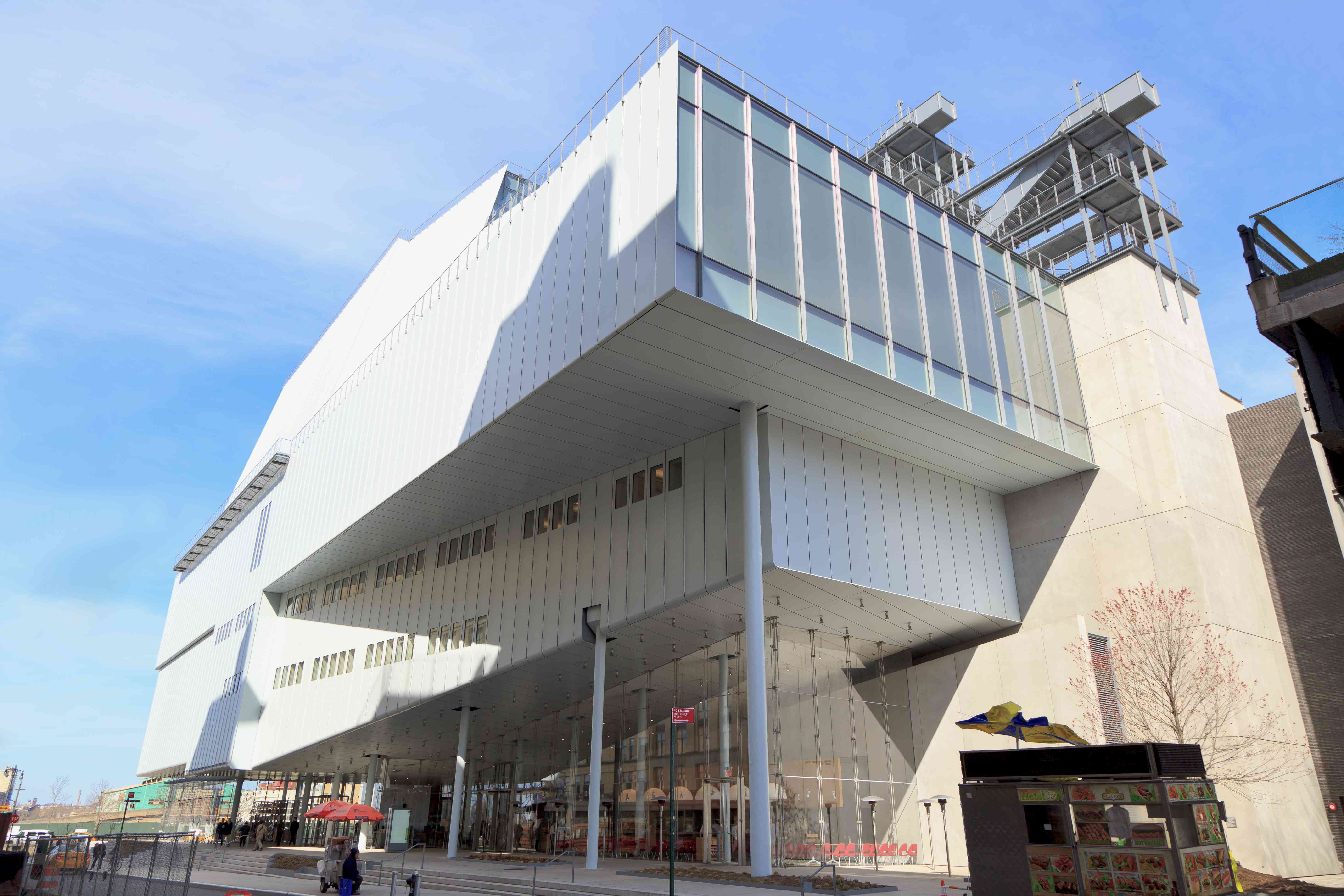 Exterior view of the Whitney Museum in 2016