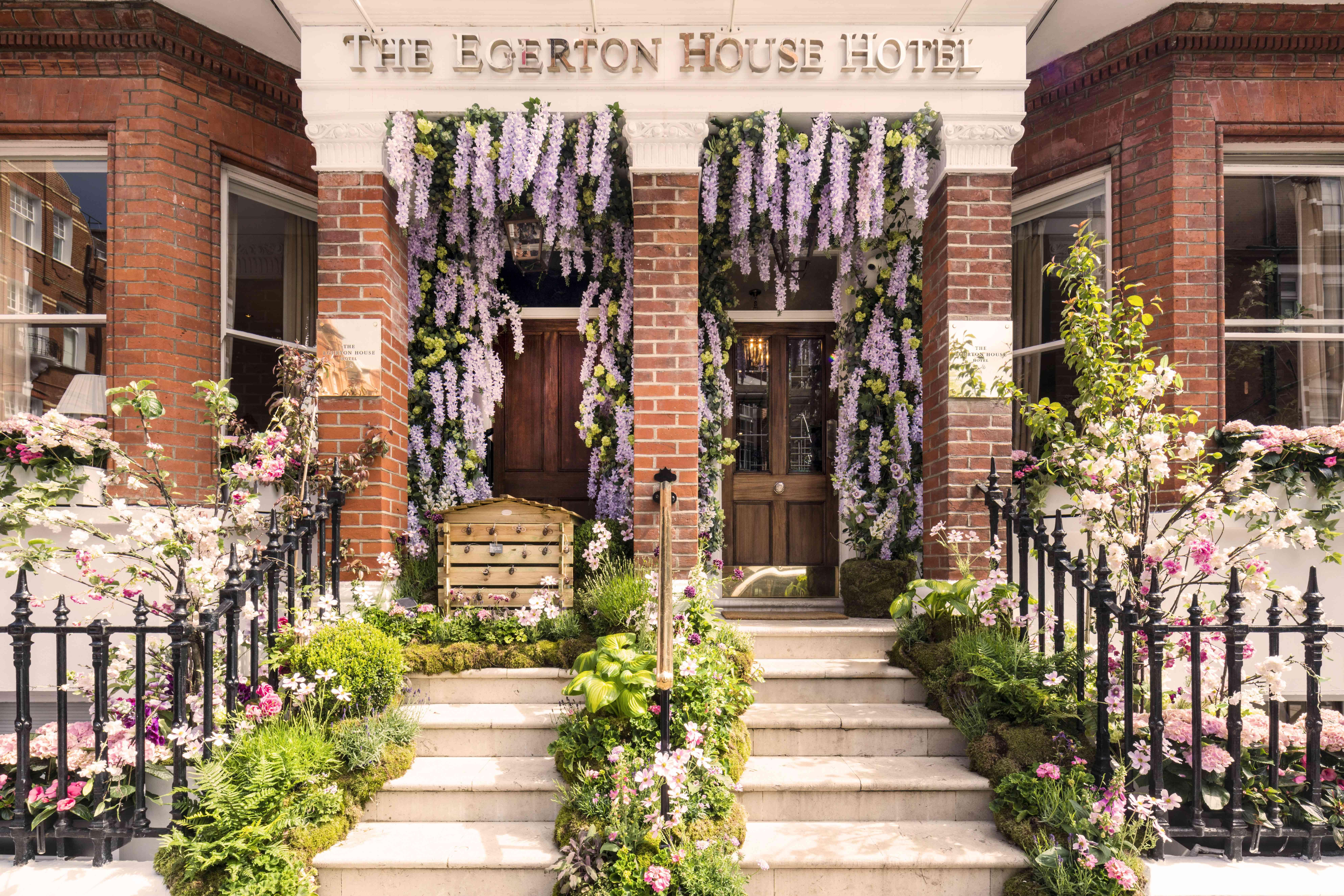 The Egerton Garden exterior