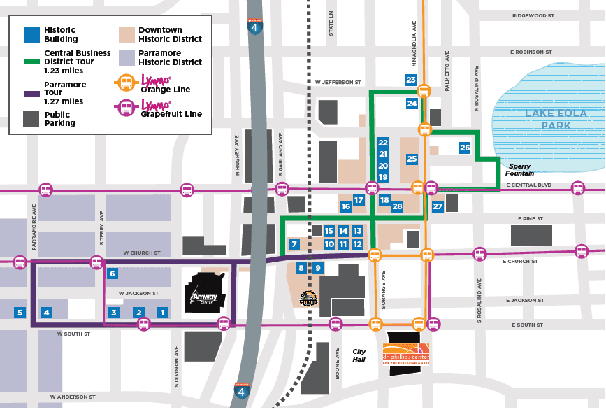Mapa histórico del centro