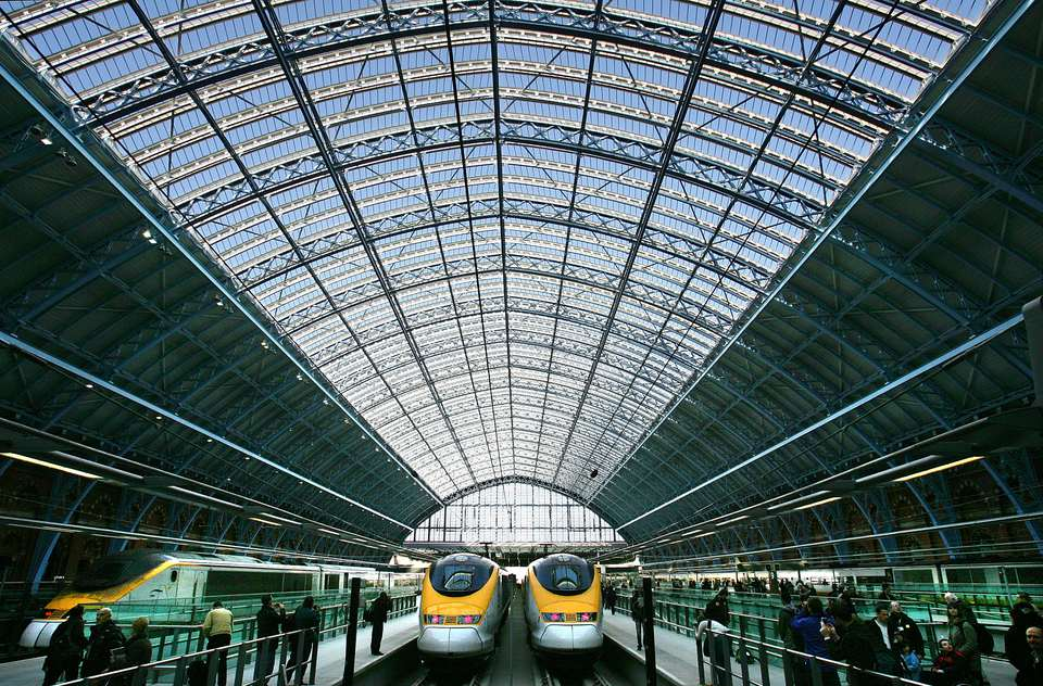 St Pancras International Station Begins Its Eurostar Service