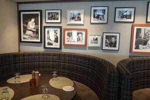 Manfredi's Italian Restaurant on the Viking Star cruise ship