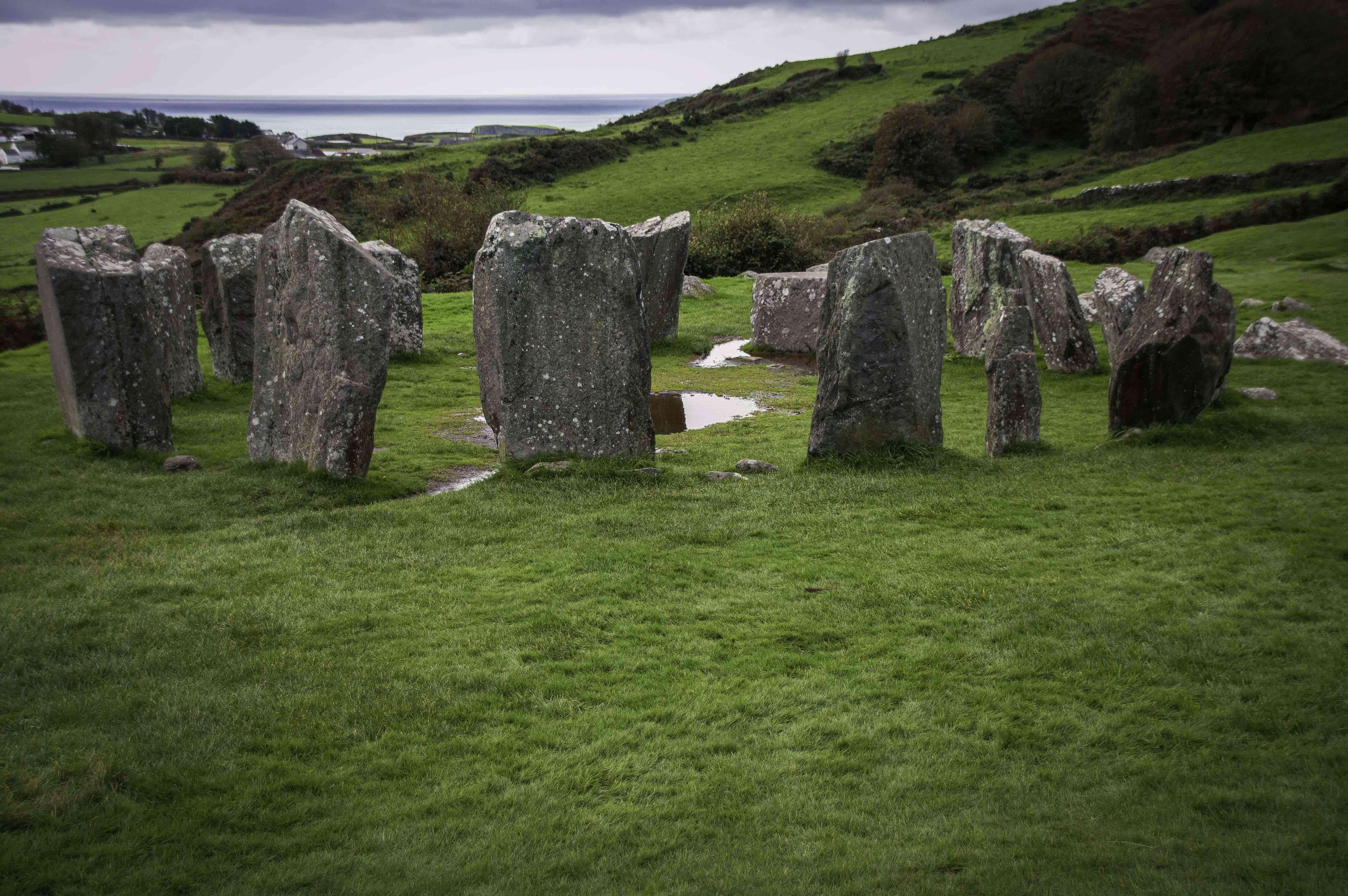 Ancient stones of Derreenataggart