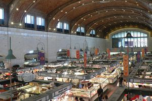The Westside Market in Cleveland, Ohio.