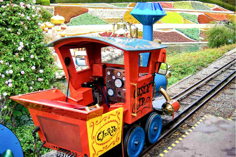 Casey Jr. Circus Train Engine