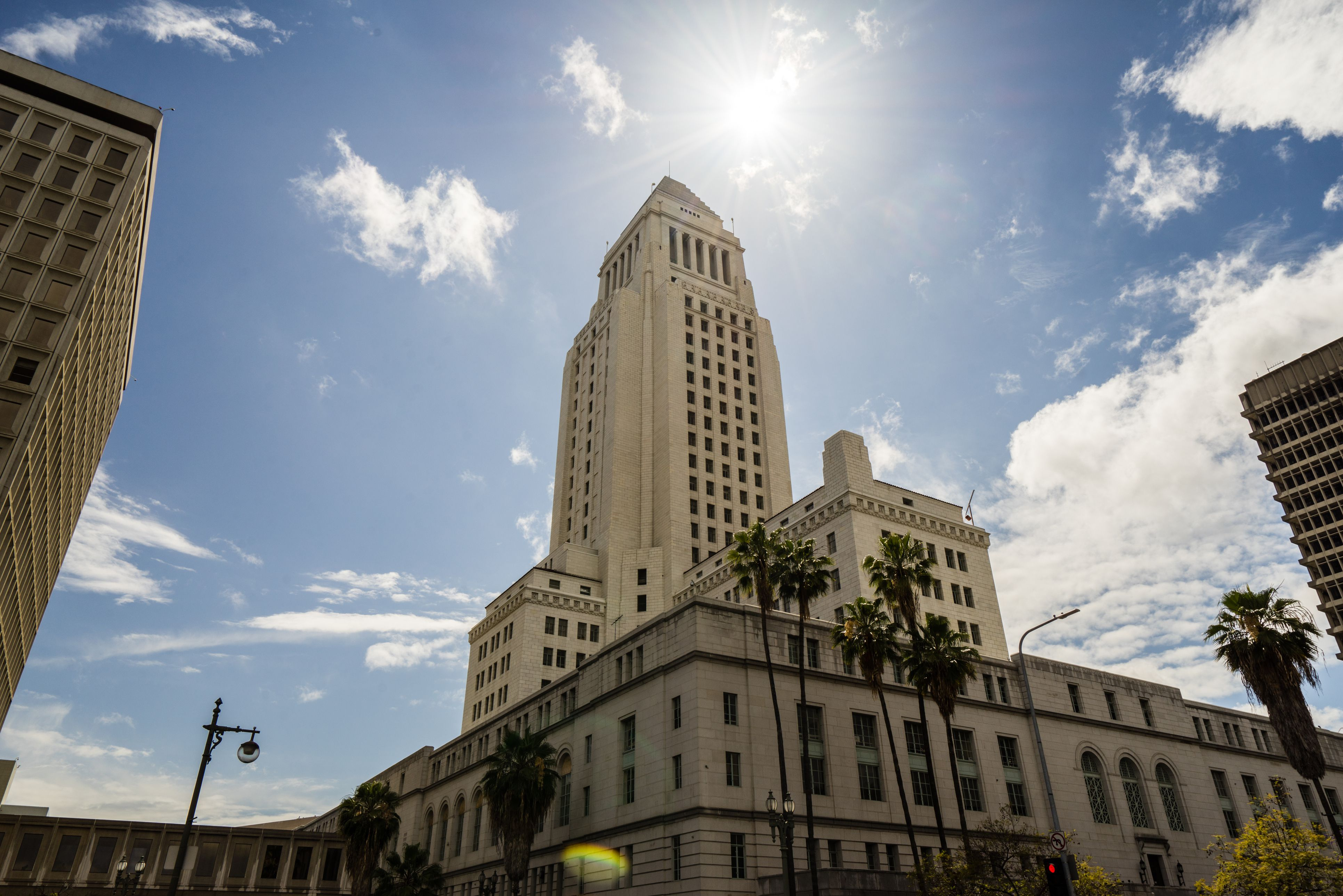 Los Angeles City Hall, California, USA
