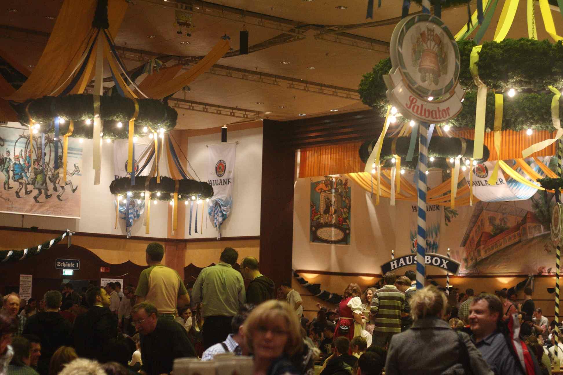 Paulaner Lent Beer Festival