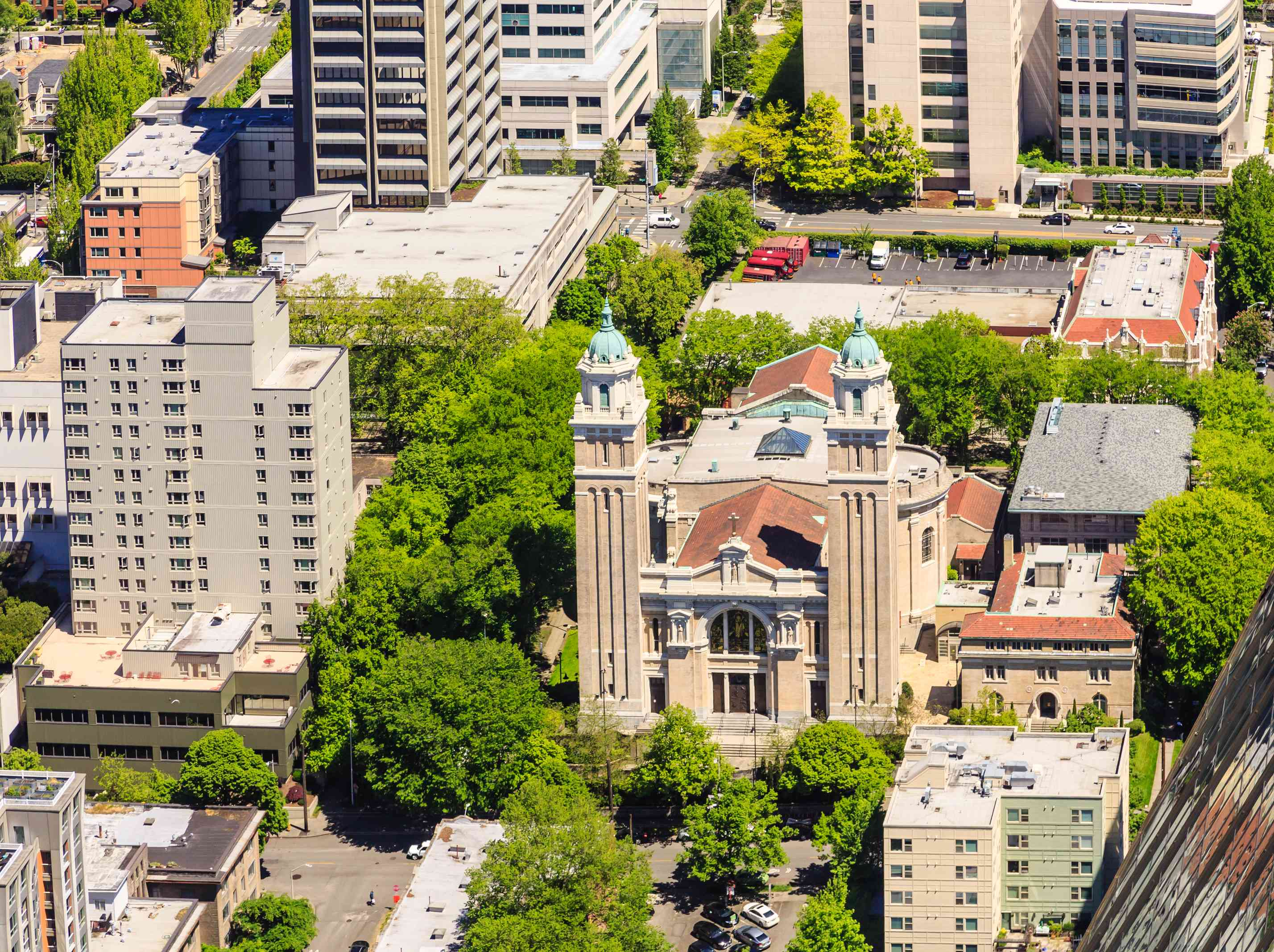 Saint James Cathedral Seattle