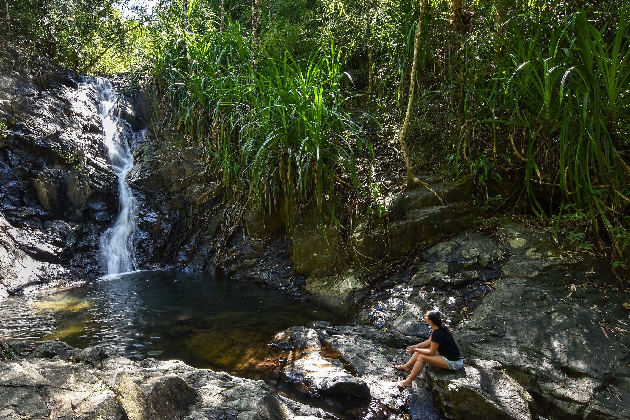 Nagkalit-kalit Falls, El Nido