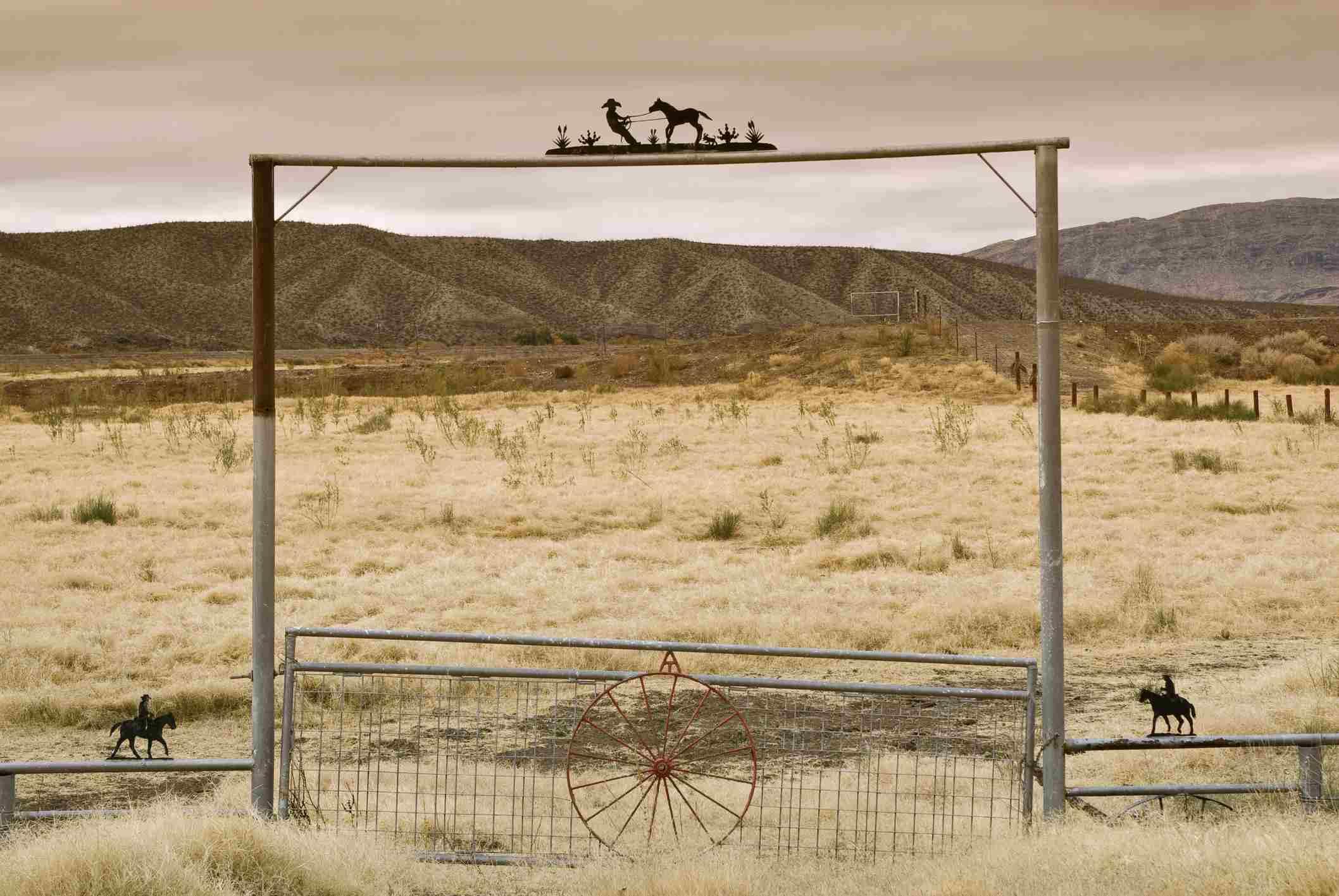 The Presidio ranch in Texas
