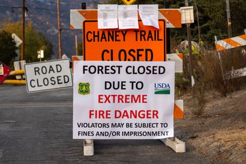 All National Forests In California Closed Due To Fire Threat