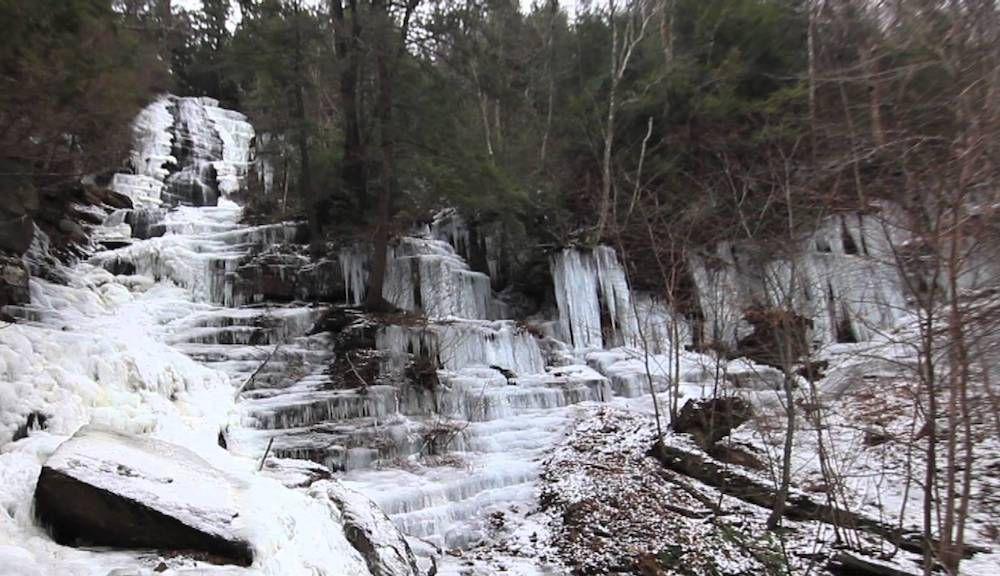 Lye Brook Falls Trail