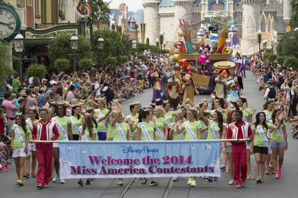 Miss America parade Disney World