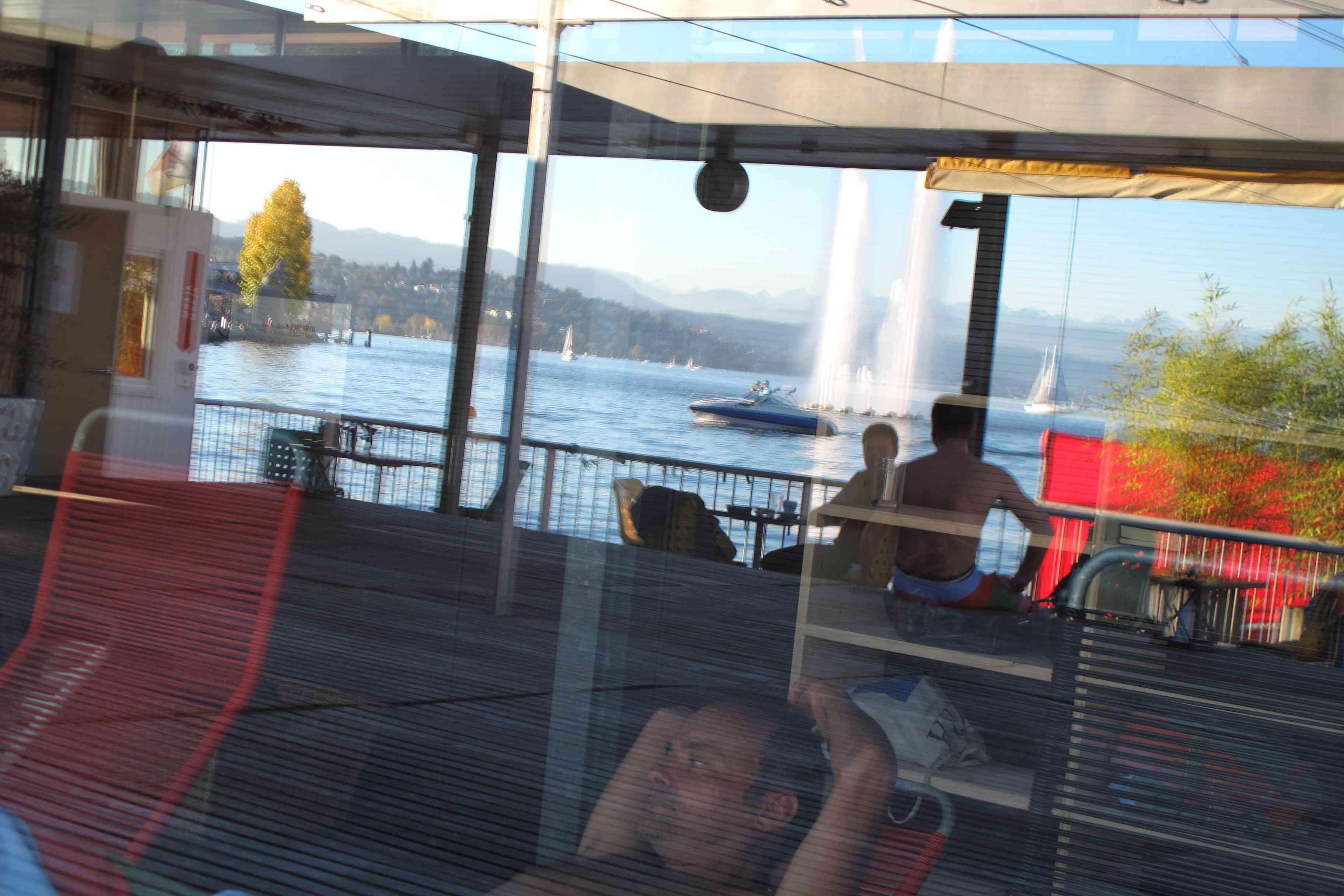 Lakeside sauna at Seebad Enge