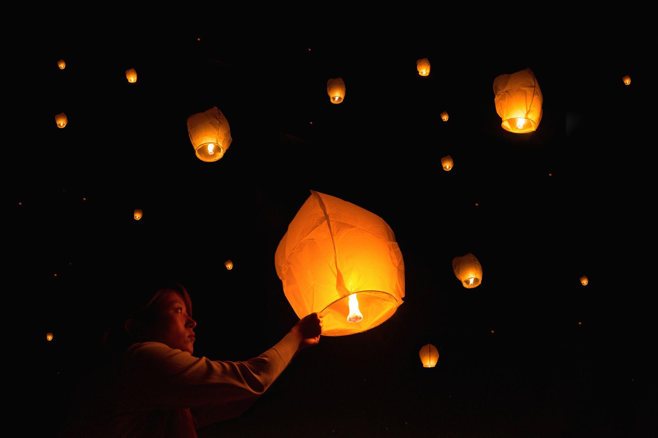 Yee Peng lantern festival.