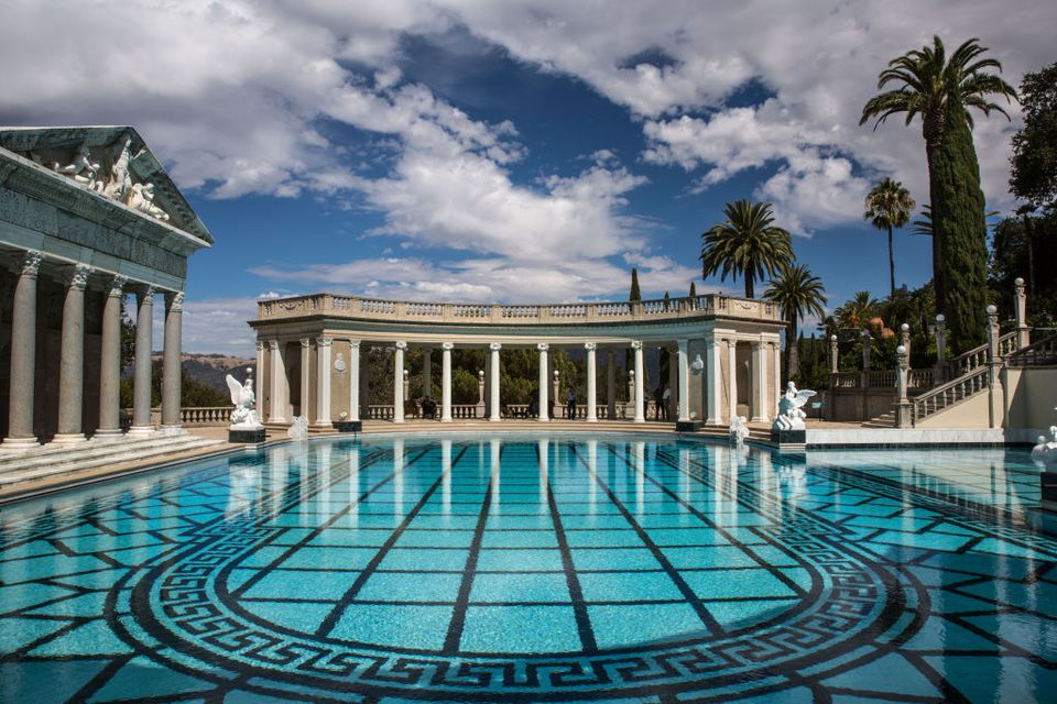 Restored Neptune Pool at Hearst Castle