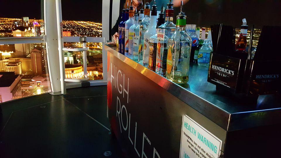 High Roller Happy Hour Las Vegas