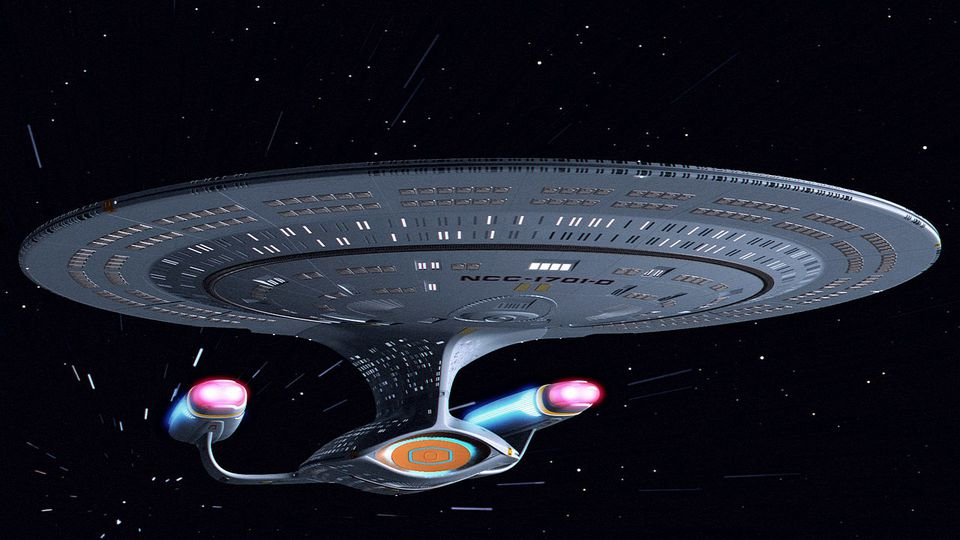 U.S.S. Enterprise Star Trek