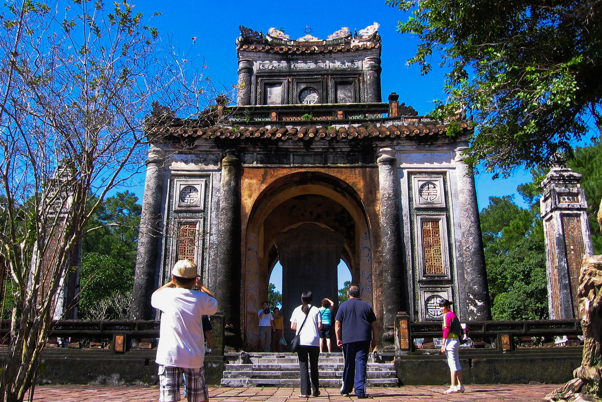 Stele Pavilion, Tu Duc Royal Tomb, Hue, Vietnam