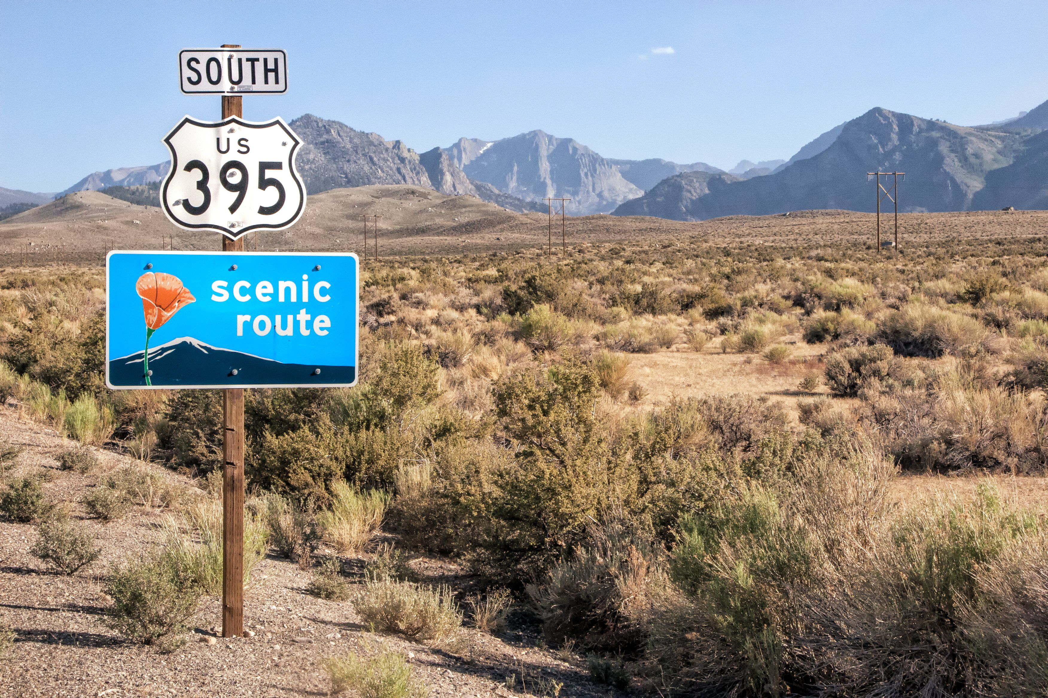 Take a Road Trip on Scenic Highway 395