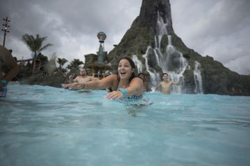 Wave Pool at Universal's Volcano Bay