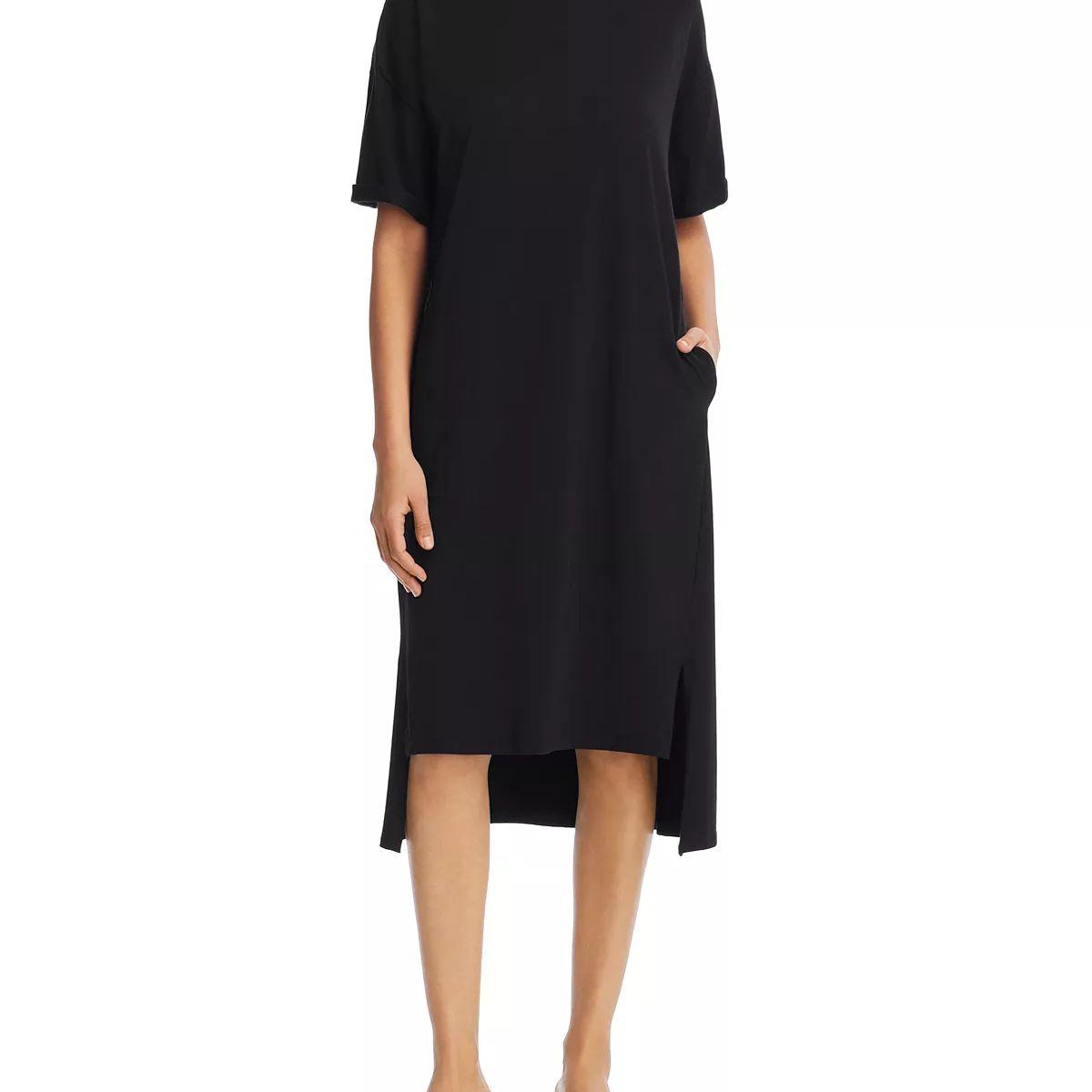 42ce21ed9b14 Best Overall: Eileen Fisher Drop Shoulder Tee Dress