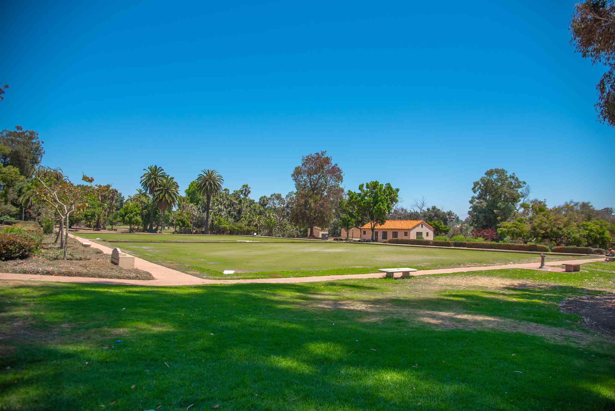 Bowling Lawn Greens at Balboa Park