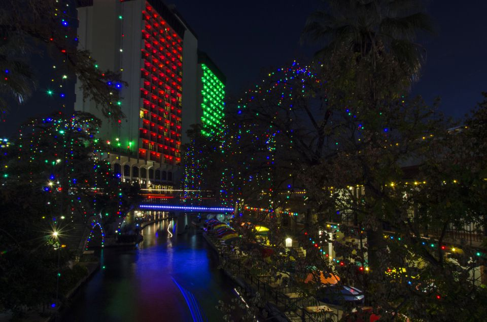 San Antonio Riverwalk - San Antonio's River Walk At Christmas