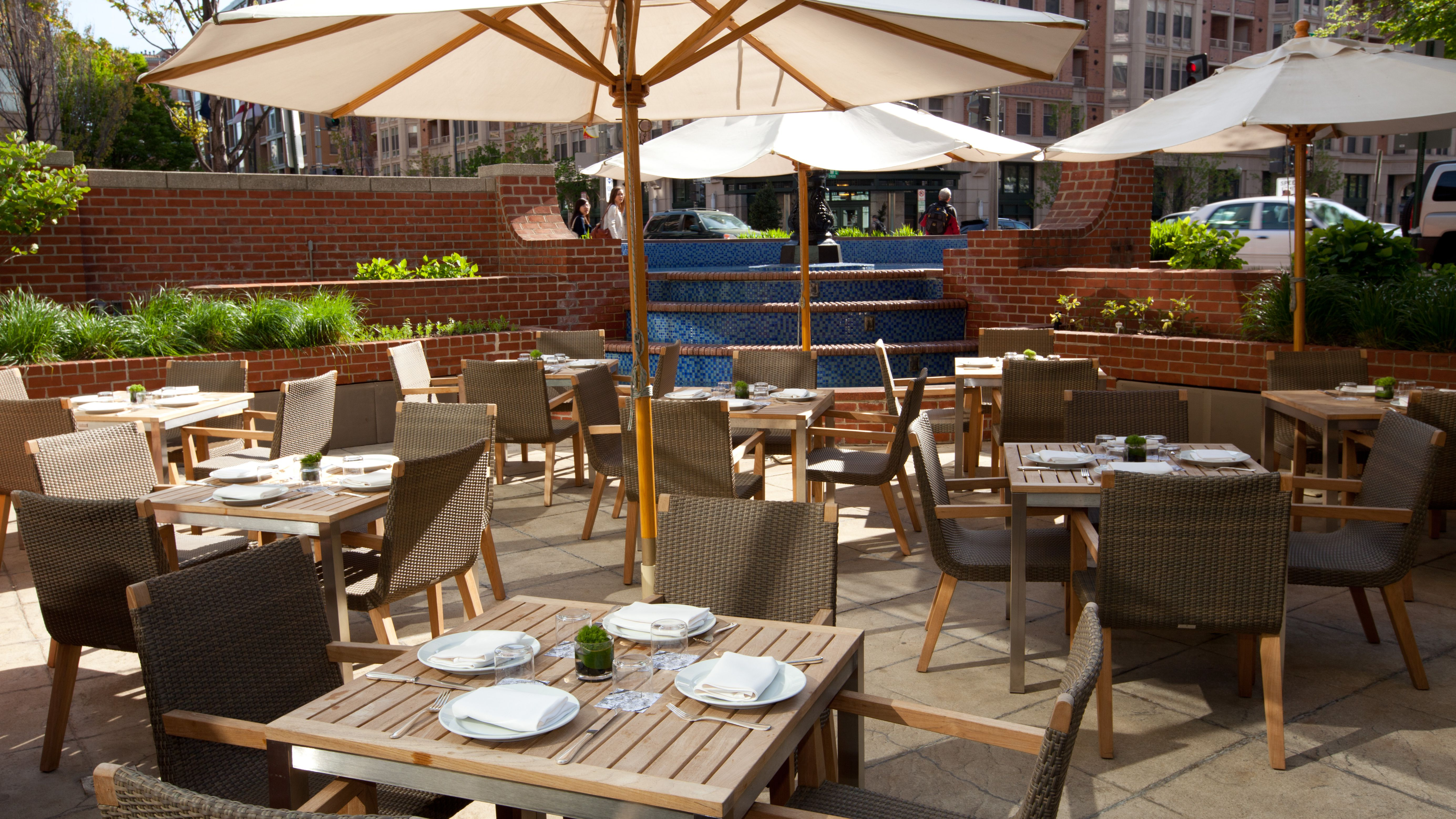 Best Places To Dine Outdoors In Washington Dc