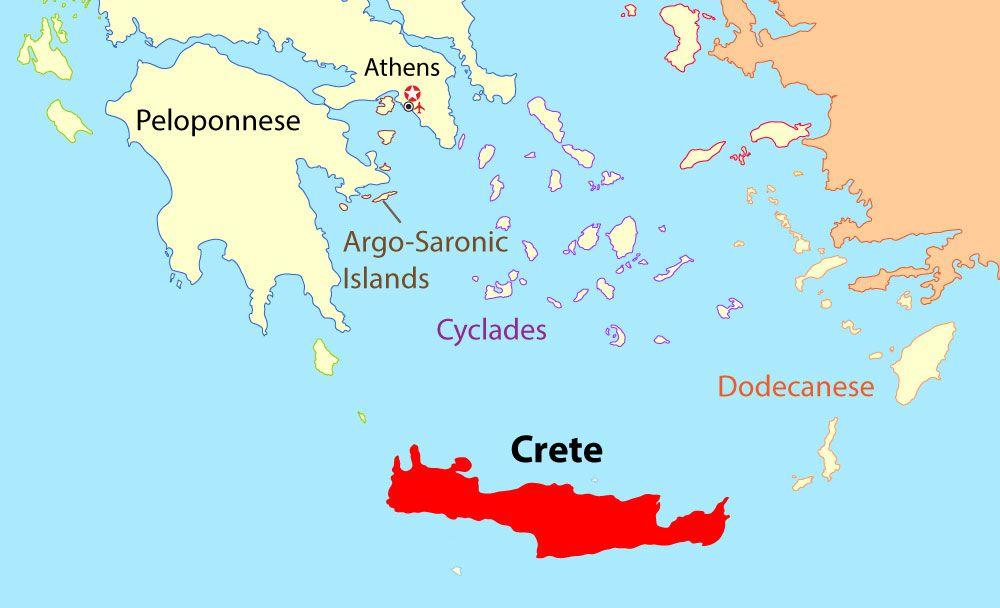 Din Guide Til Kreta Herunder Kort Vejr Og Ting At Se