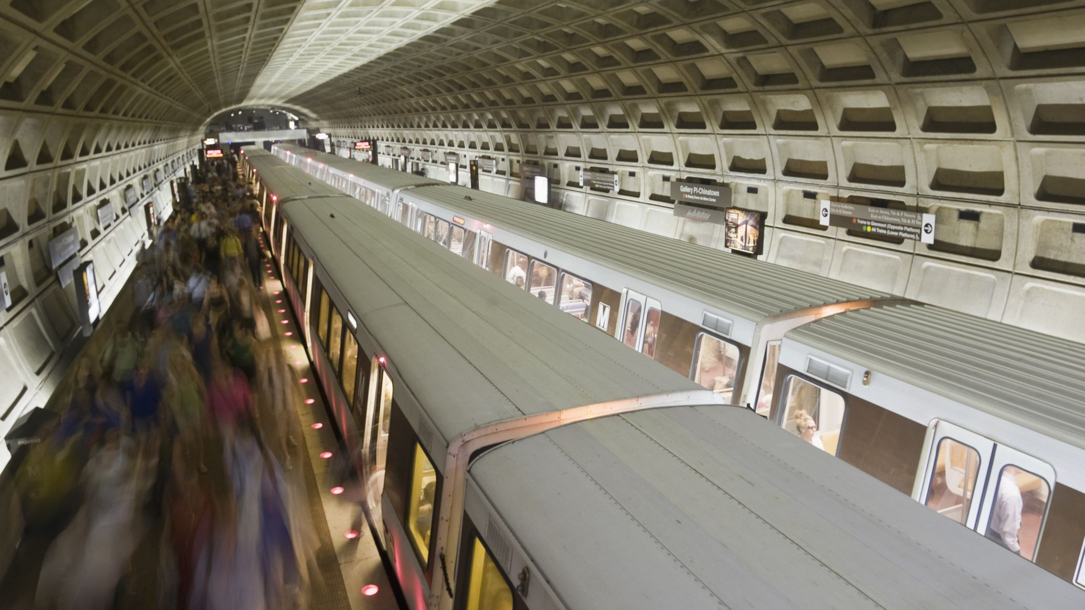 Guide to Riding the Washington, D C  Metro Subway