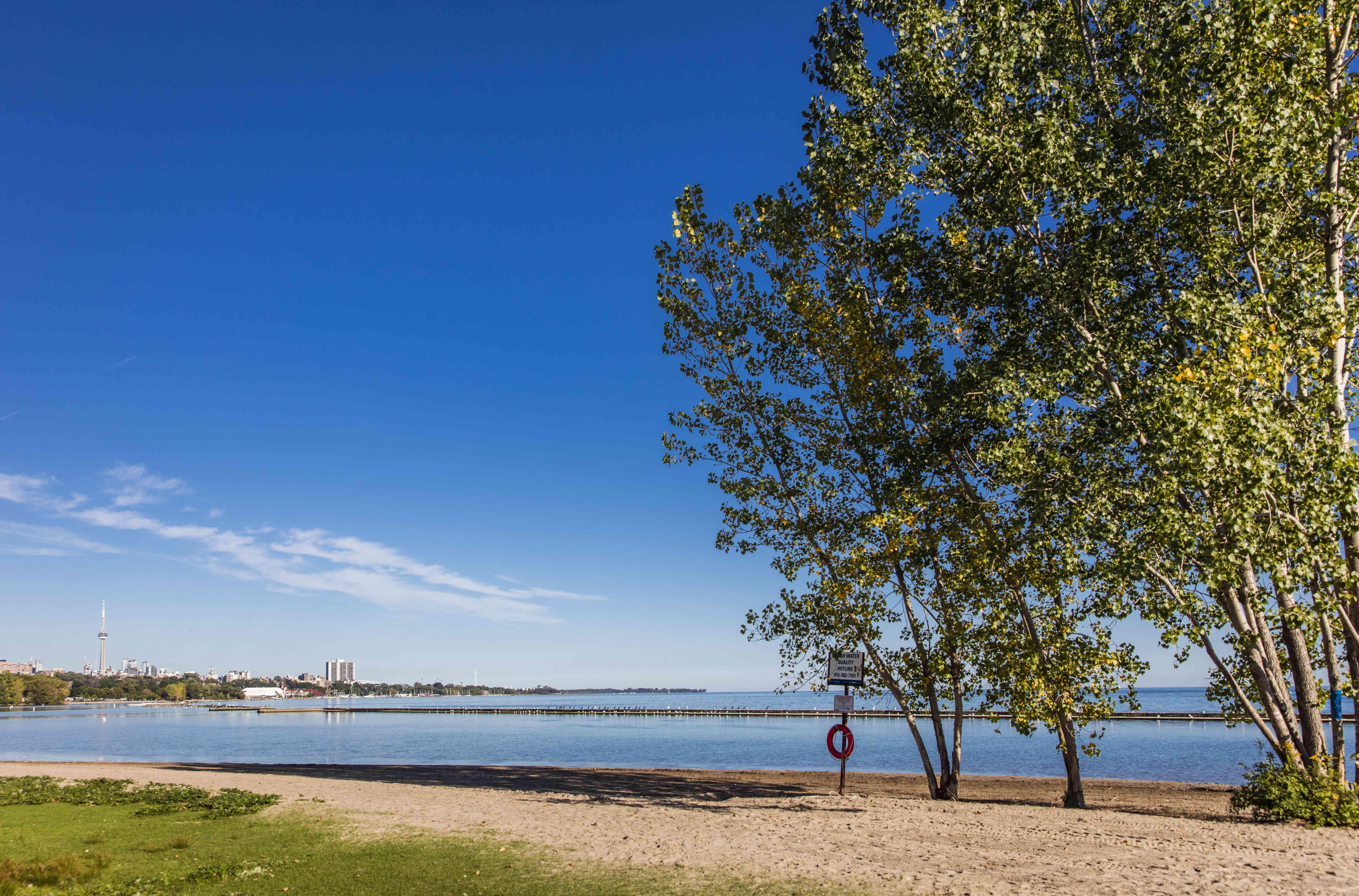 Sunnyside Beach in Toronto