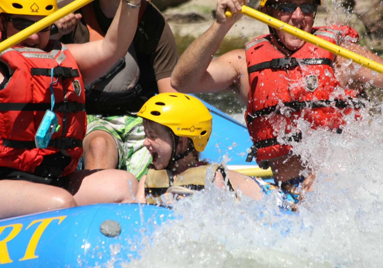Family Rafting Trip on Colorado's Arkansas River
