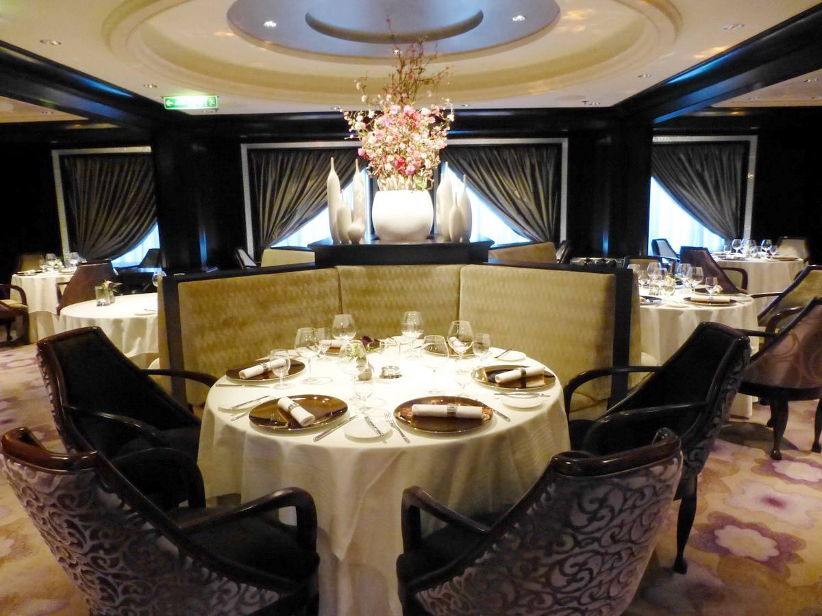 Murano Restaurant on the Celebrity Reflection