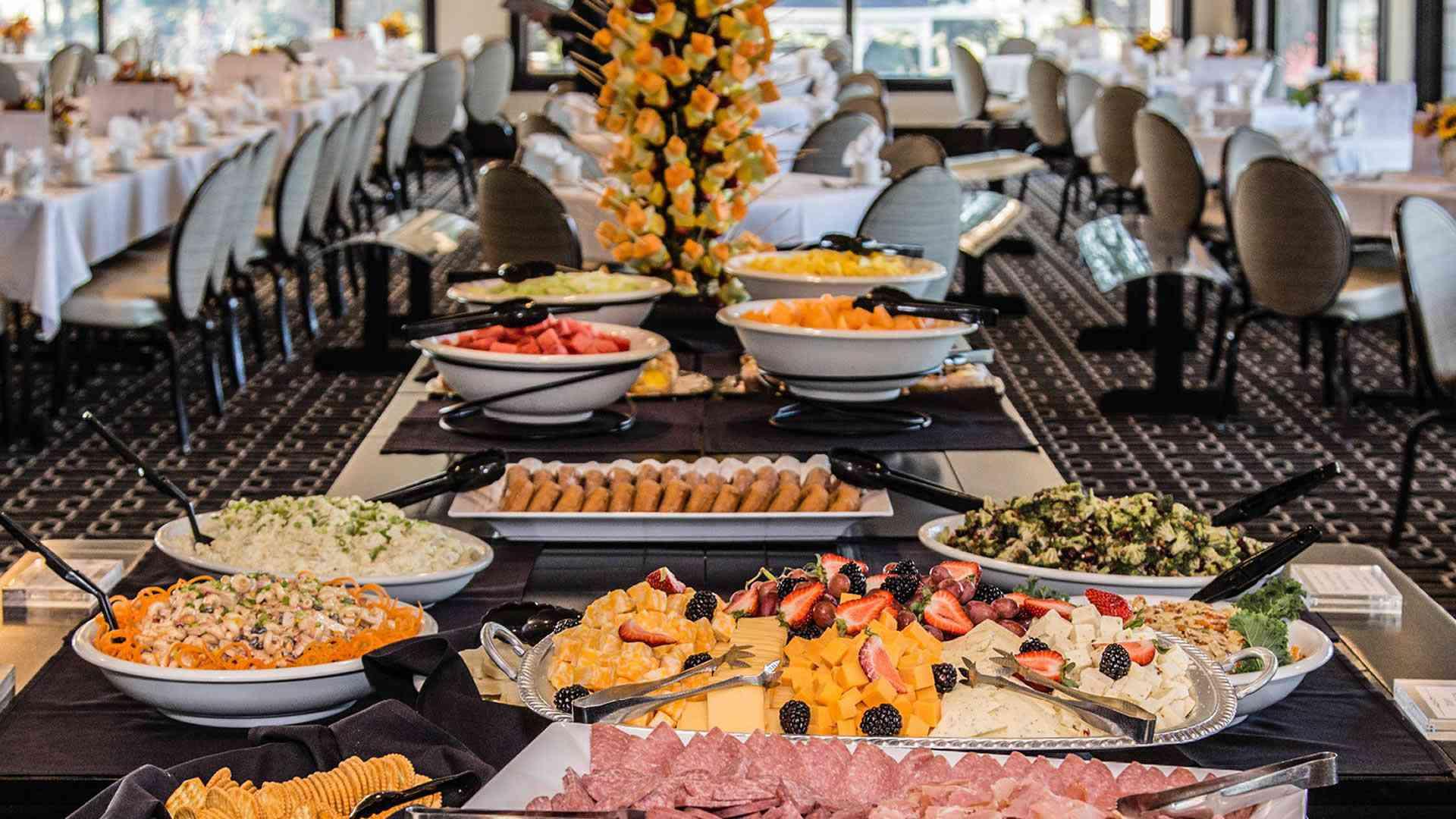 Fox Hills Golf Club appitizer buffet