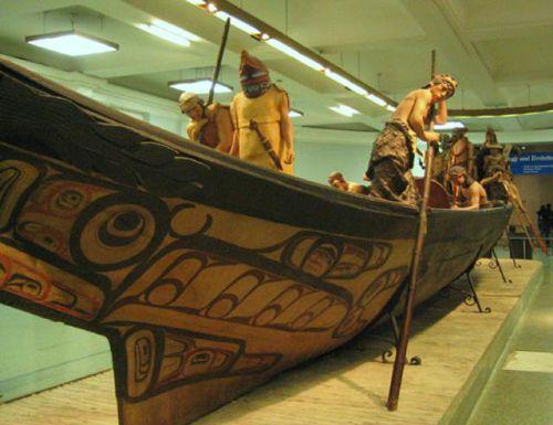 Haida Canoe at AMNH