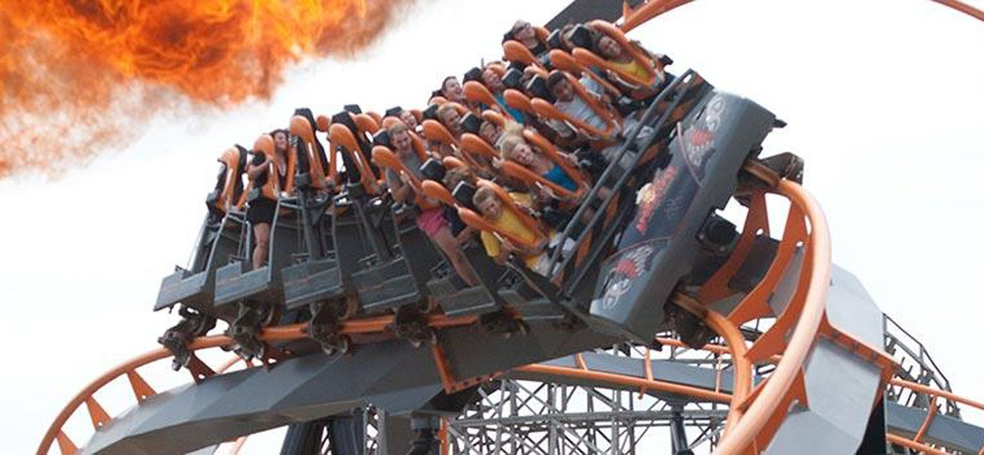 Six Flags America coaster