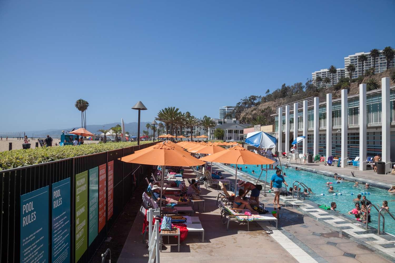 Casa de la playa de la comunidad de Annenberg en Santa Mónica