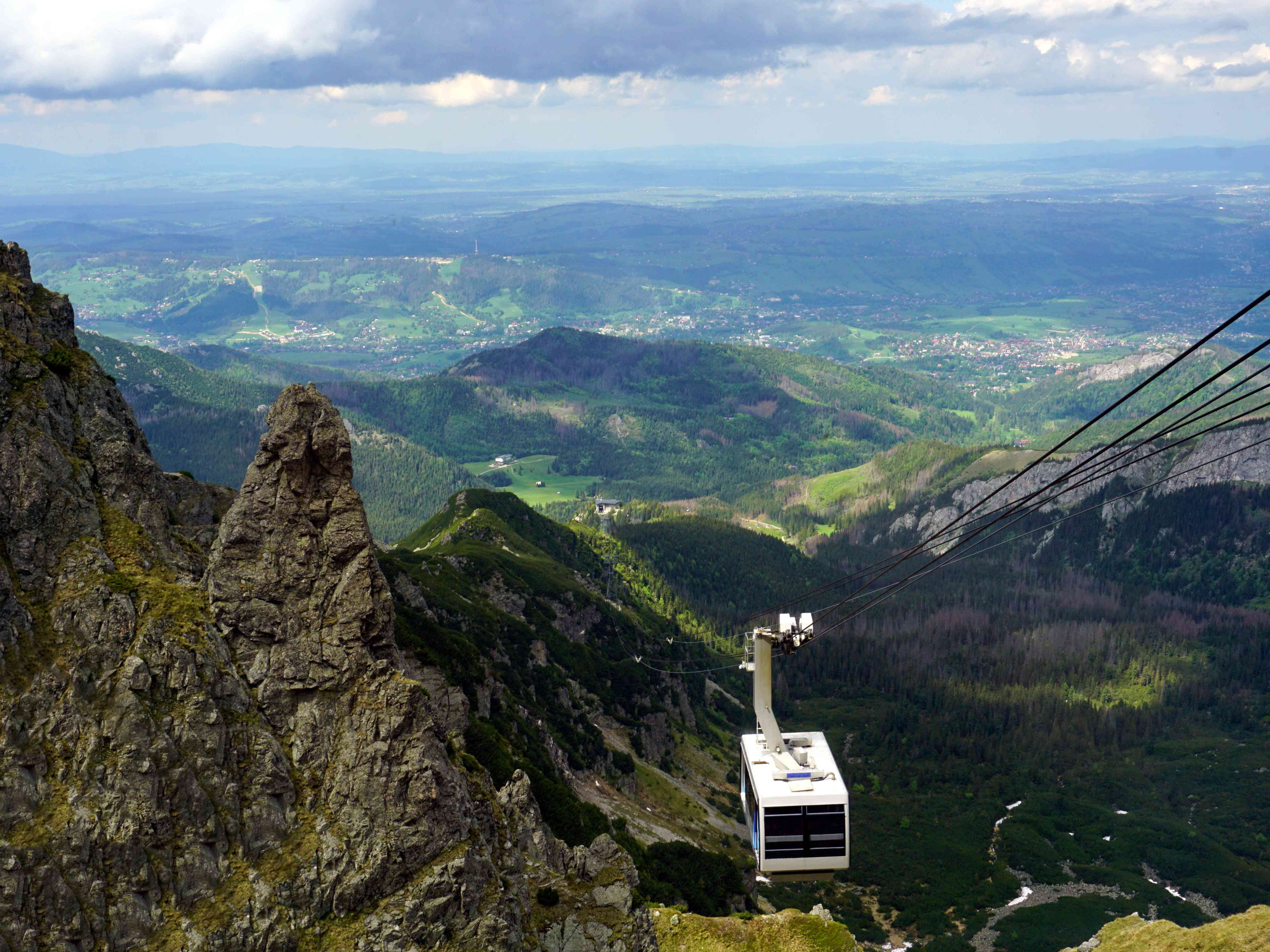 The Cable Car To Kasprowy Wierch Mountain