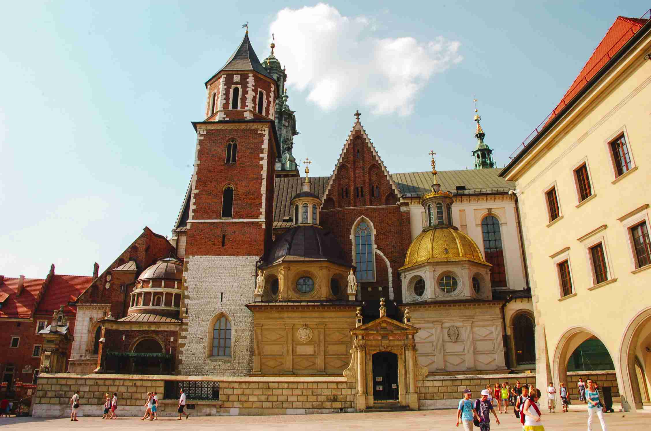 Cathedral in Krakow, Poland